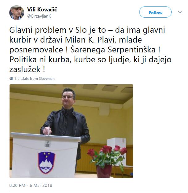 Screenshot-2018-3-8 Vili Kovačič on Twitter Glavni problem v Slo je to – da ima glavni kurbir v državi Milan K Plavi, mlade[...]